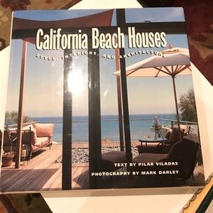 California Beach Houses Coffee Table Book WOW! EUC